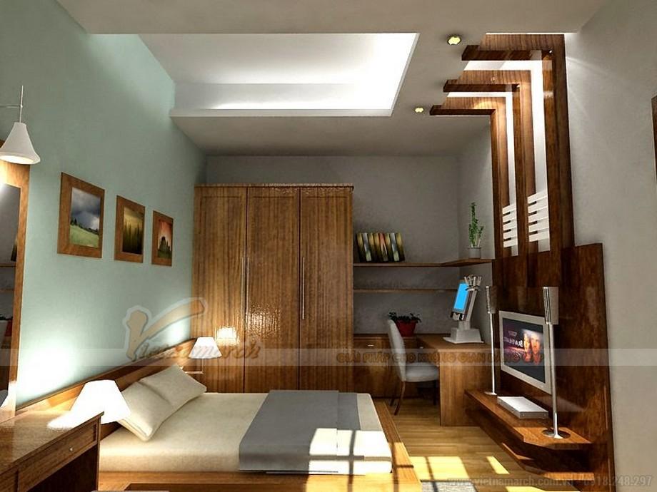 Mẫu trần thạch cao phòng ngủ 15m2