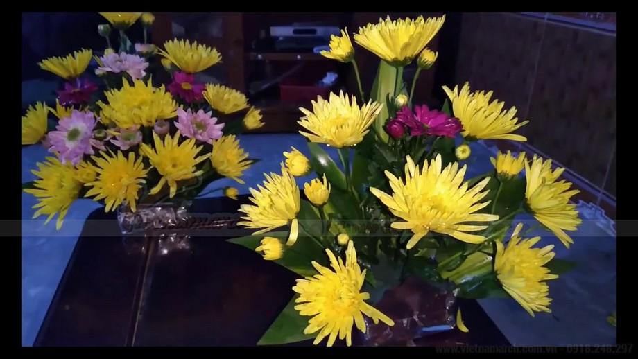 Một số loại hoa cắm bàn thờ ngày tết rước lộc vào nhà!