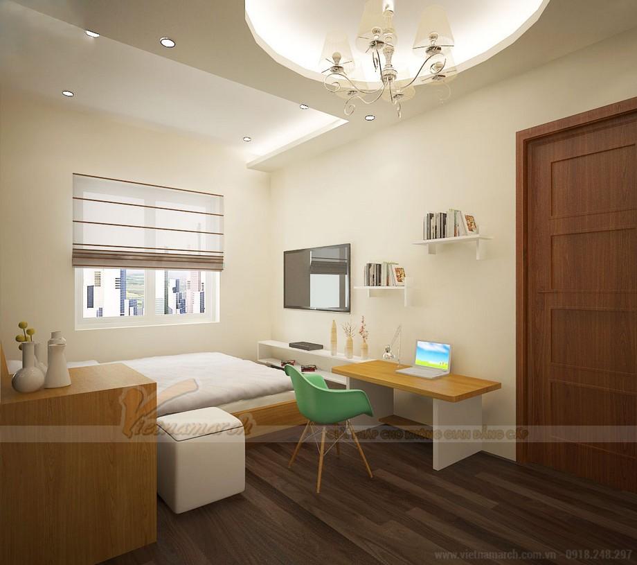 Trần thạch cao phòng ngủ chung cư