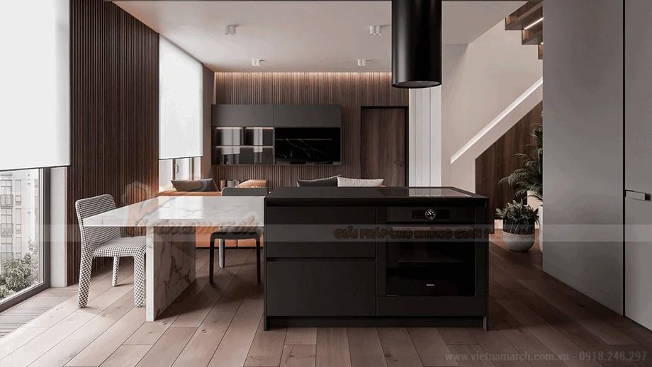 Không gian phòng bếp sang trọng và đẳng cấp view4