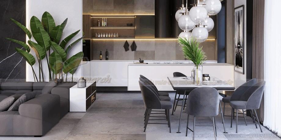 Không gian phòng bếp sang trọng và đẳng cấ view3