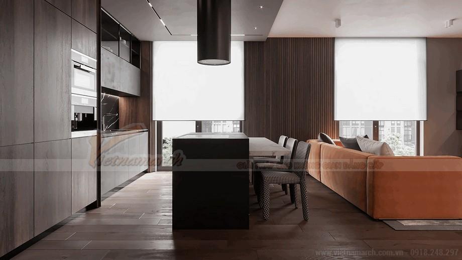 Không gian phòng bếp sang trọng và đẳng cấ view1