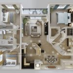 Mê mẩn với những thiết kế nội thất cho căn hộ chung cư 90m2 đẹp và sang trọng