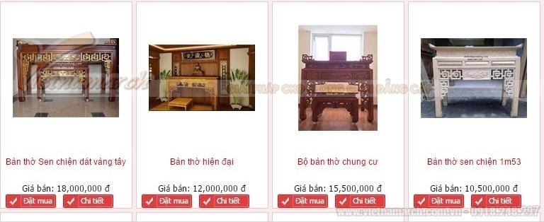 Kinh nghiệm mua bàn thờ đẹp chất lượng tốt. Những mẫu bàn thờ đẹp, đơn giản và hiện đại được sử dụng nhiều nhất ở Hà Nội