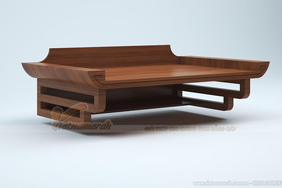 Bàn thờ treo tường bằng gỗ gõ đỏ
