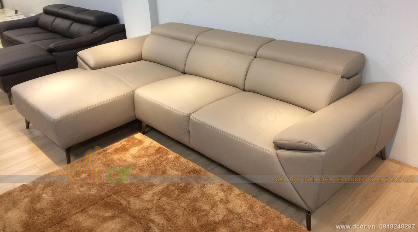 Ghế sofa da phòng khách nên chọn màu gì cho hợp?