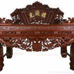 Mẫu bàn thờ tứ linh phù hợp nhất cho những gia đình làm ăn, buôn bán