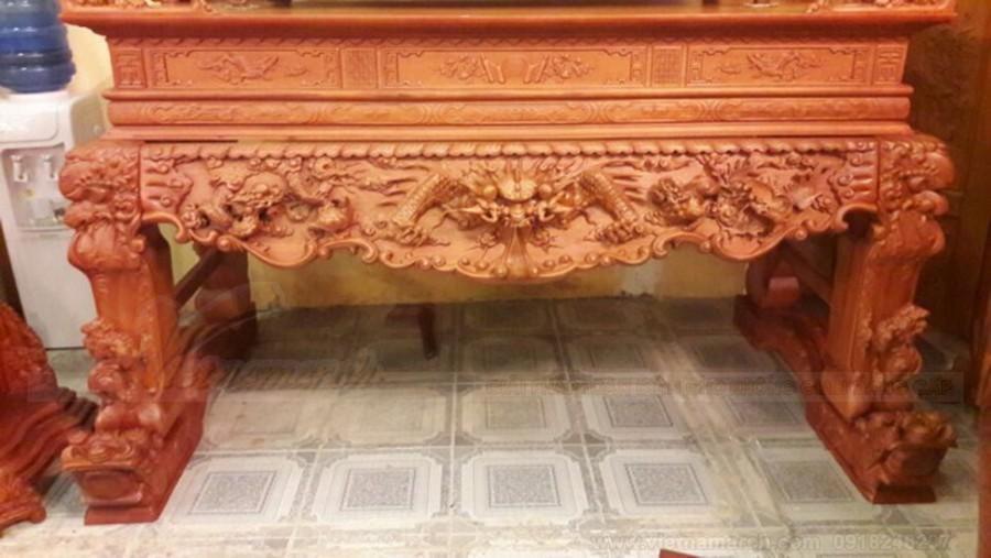 Mẫu bàn thờ tứ linh