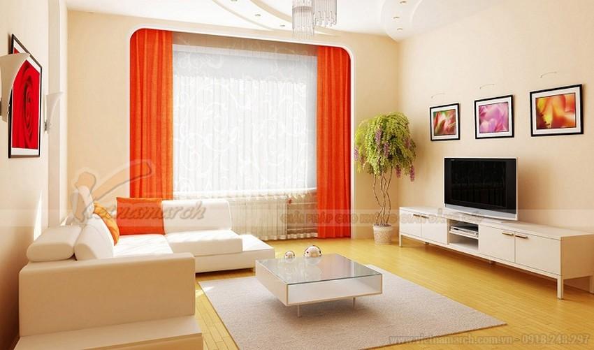 Màu trắng là một tông màu đơn giản và dễ lựa chọn nhất