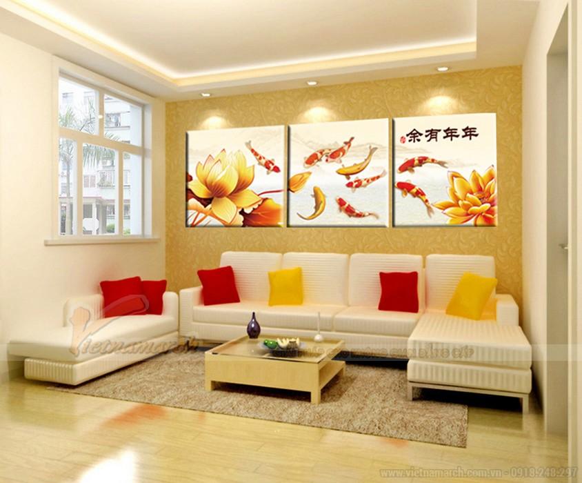 Bàn ghế sofa mang lại phong cách hiện đại cho phòng khách nhỏ