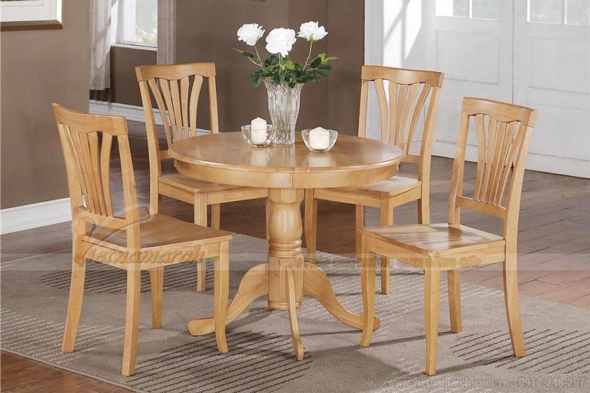 mẫu bàn ghế phong cách đơn giản