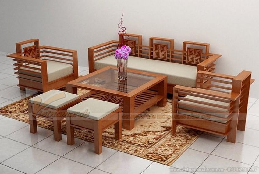 Bàn ghế làm từ gỗ ép, gỗ công nghiệp thường có giá mềm hơn