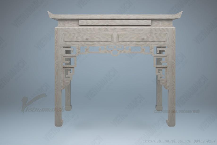 Kích thước bàn thờ đứng chuẩn phong thủy