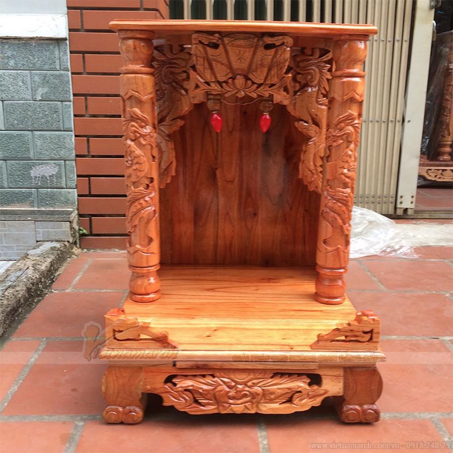 Lựa chọn kích thước bàn thờ ông địa thần tài theo tuổi đem lại tài lộc, may mắn cho gia chủ