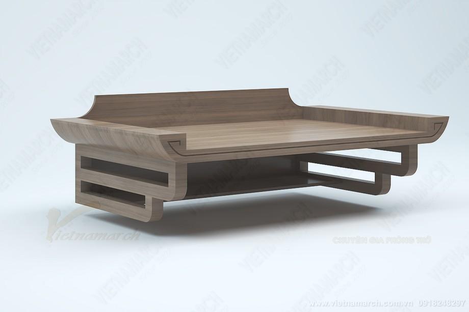Bàn thờ treo gỗ sồi bền đẹp giá rẻ tại Hà Nội