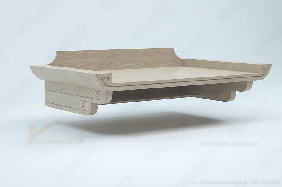 Bán bàn thờ giá rẻ: BTT 08 kích thước chuẩn lỗ ban