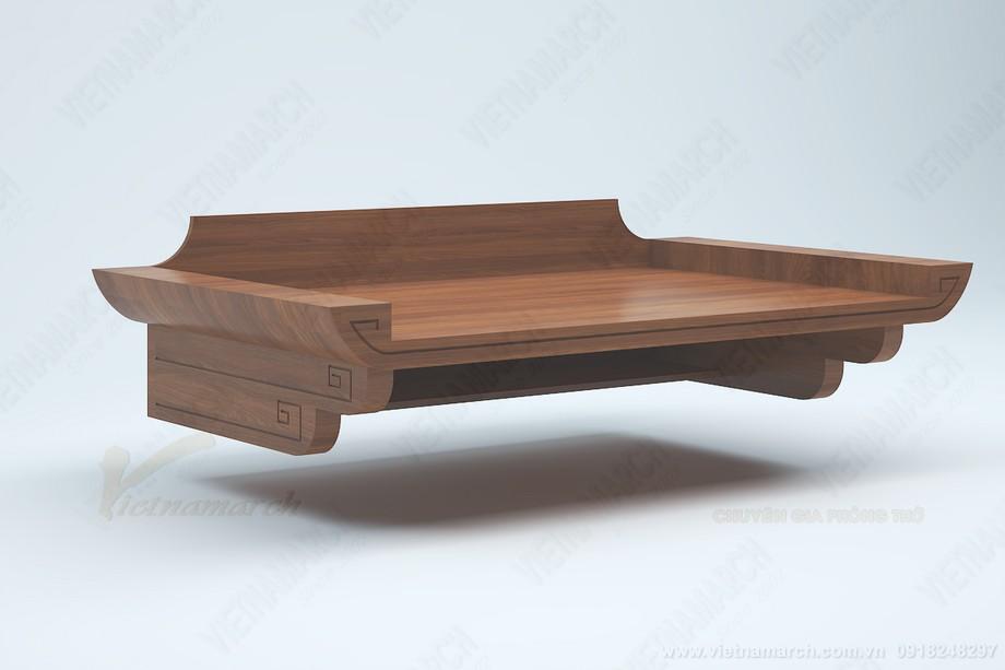 Màu bàn thờ gỗ đẹp sang trọng