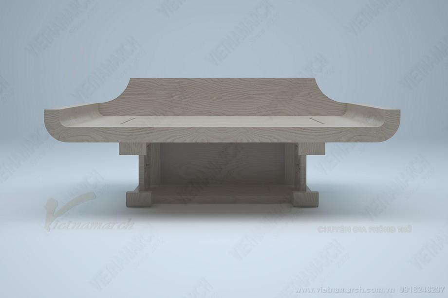 Mê mẩn với mẫu bàn treo tường có ngăn, kiểu dáng hiện đại độc đáo: BTT 10