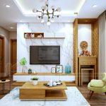 Phòng khách kết hợp để bàn thờ – Giải pháp tiết kiệm không gian cho ngôi nhà của bạn