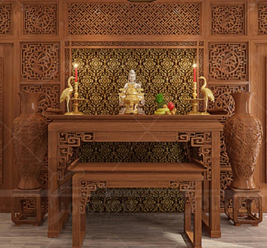 Màu gỗ mang nét cổ điển pha lẫn hiện đại