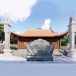 Thiết kế xây dựng nhà thờ dòng họ hợp phong thủy, hút tài lộc
