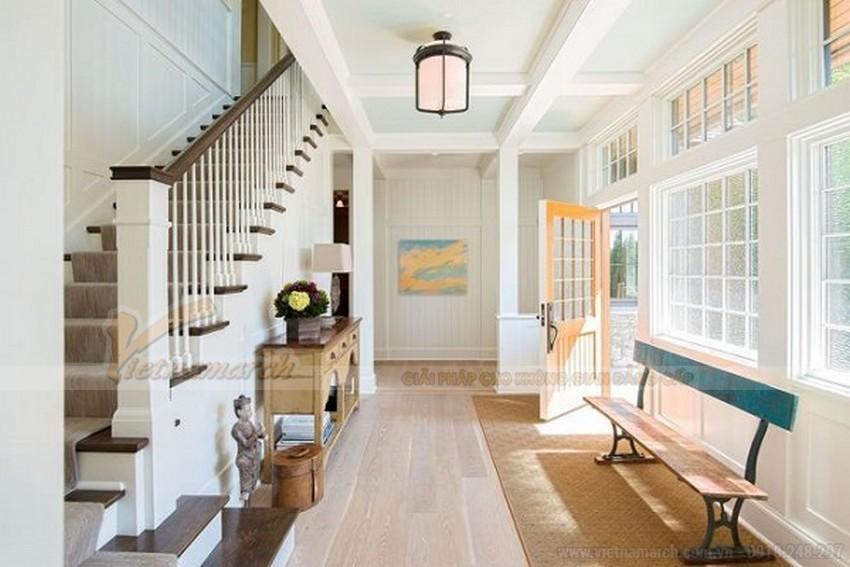 sử dụng màu sắc khác biệt phối màu cho trần nhà
