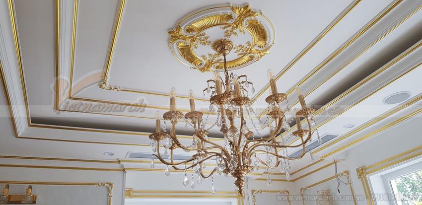 Phối màu sơn chỉ trần nhà đẹp làm tăng tính thẩm mỹ cho ngôi nhà bạn