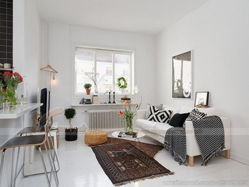 Nhiều người lựa chọn sơn trần nhà màu trắng vì cho rằng màu trắng sẽ giúp cho ngôi nhà trở nên sáng và rộng hơn