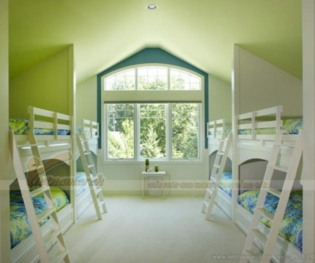10 cách phối màu trần nhà đẹp ấn tượng với những gam màu khác nhau