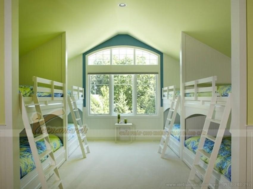 Nên sơn trần nhà bởi màu sắc tươi sáng, hay gam màu trầm ấm sẽ giúp tạo lan tỏa dương khí, mang đến vượng khí