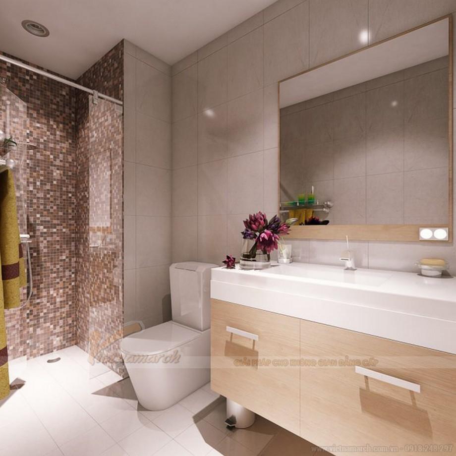 Thiết kế nội thất nhà tắm chung cư