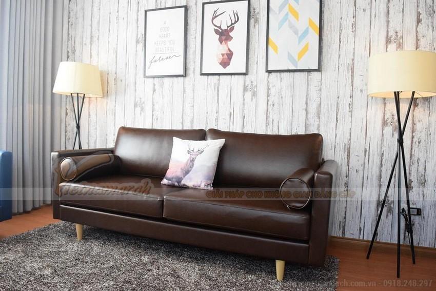Sofa văng da