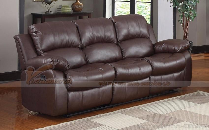 Sofa da kiểu dáng hiện đại