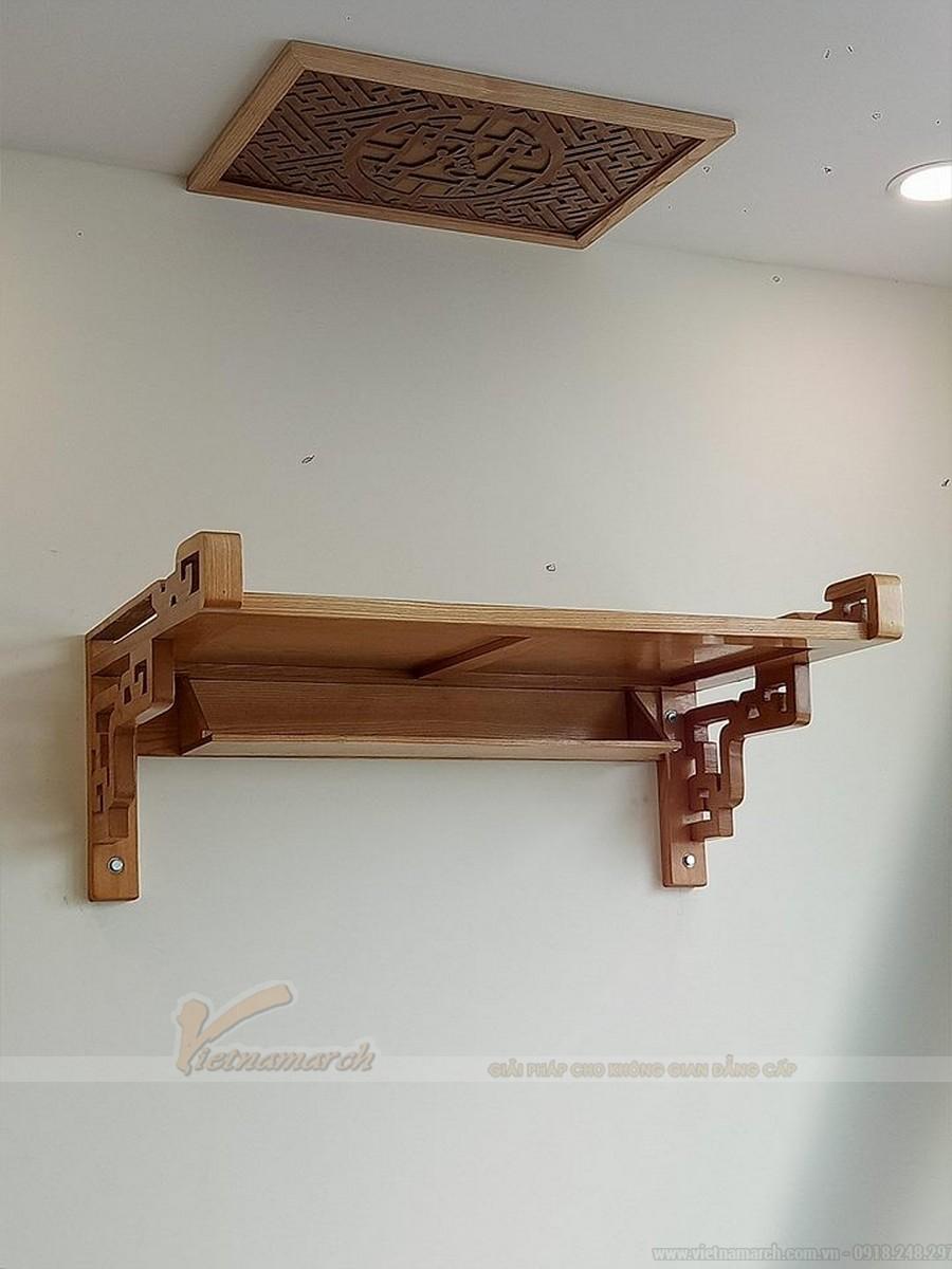 Bàn thờ gỗ công nghiệp có tốt không? Nơi bán tủ thờ gỗ công nghiệp uy tín tại Hà Nội