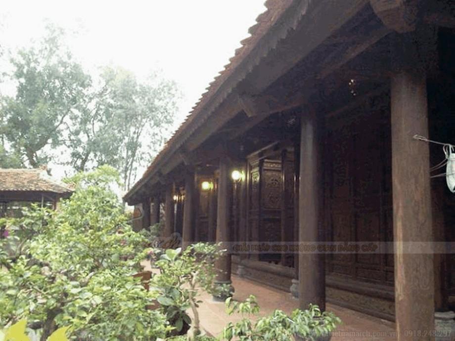 Mẫu nhà thờ họ bằng gỗ đẹp view4