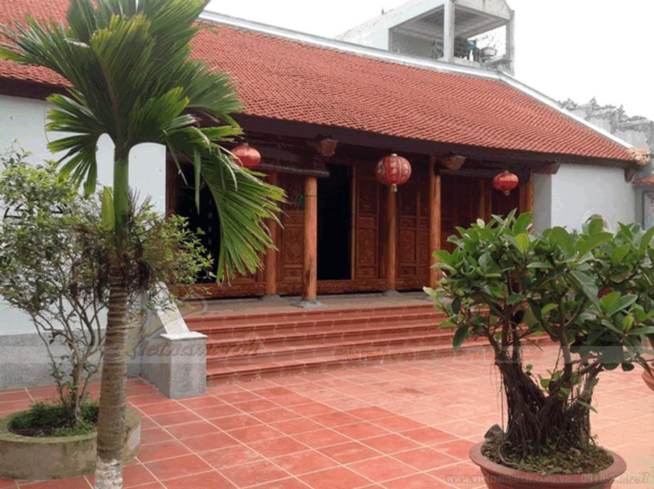 Mẫu nhà thờ họ bằng gỗ đẹp view5