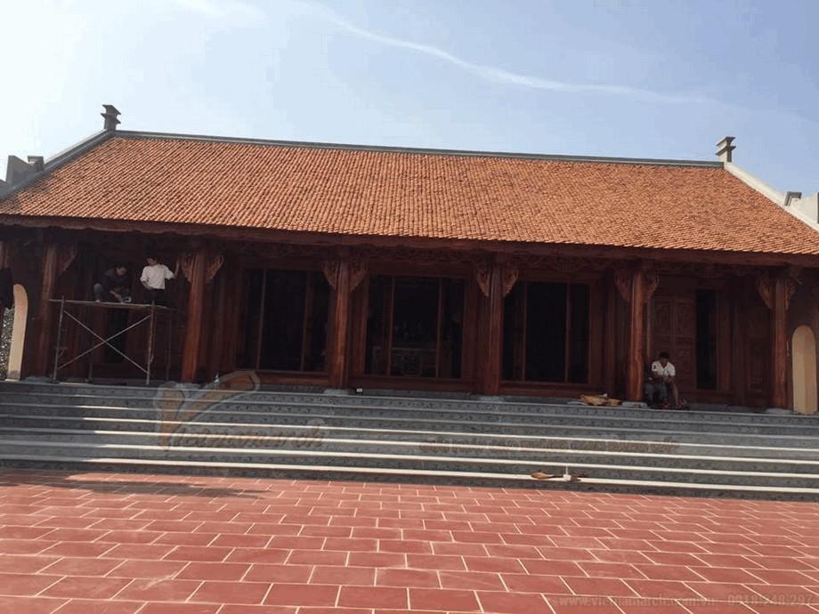 Mẫu nhà thờ họ bằng gỗ đẹp view7
