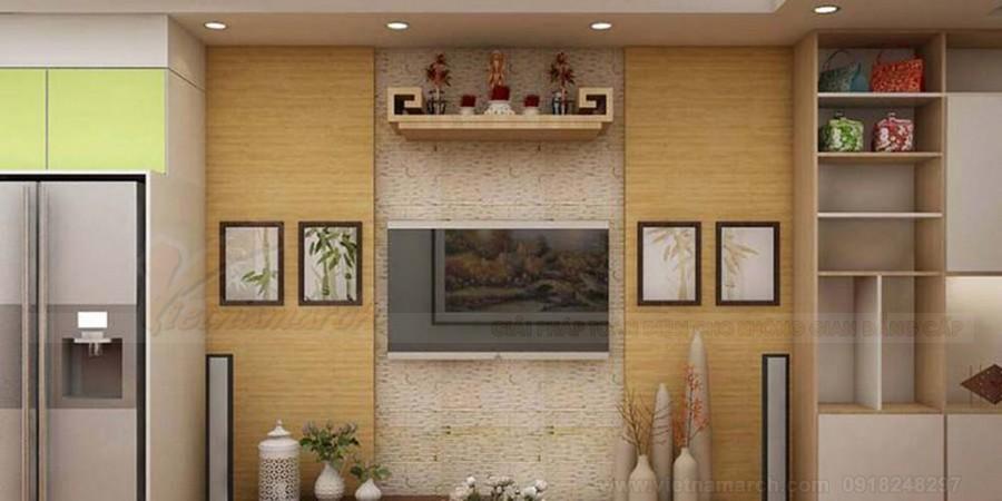 Bàn thờ giá rẻ cho căn hộ chung cư