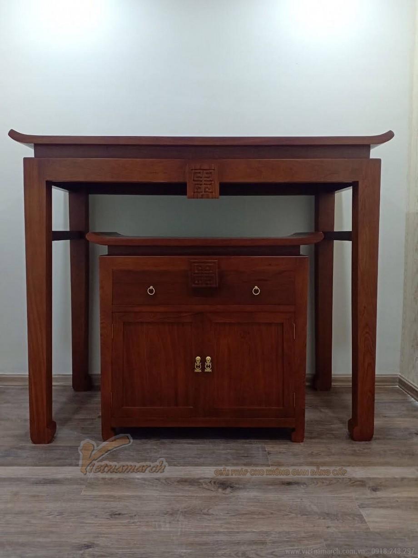 Báo giá bàn thờ gỗ hương