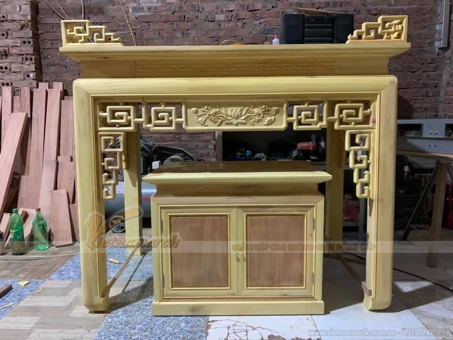 Báo giá bàn thờ gỗ mít