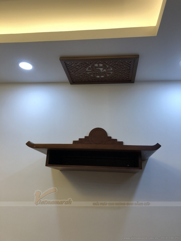 Lắp đặt bàn thờ chung cư hiện đại tại Xuân La- Xuân Đỉnh