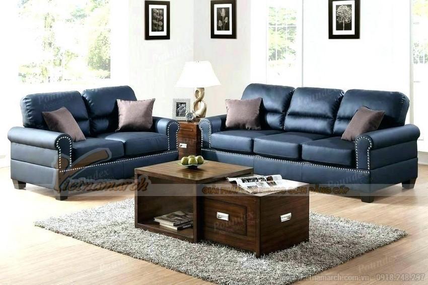 Mẫu ghế sofa giả da