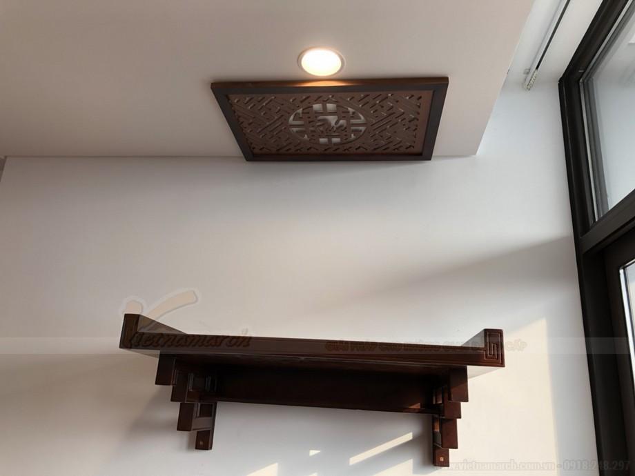 LẮp đặt bàn thờ tại chung cư 99 Hoàng Hoa Thám