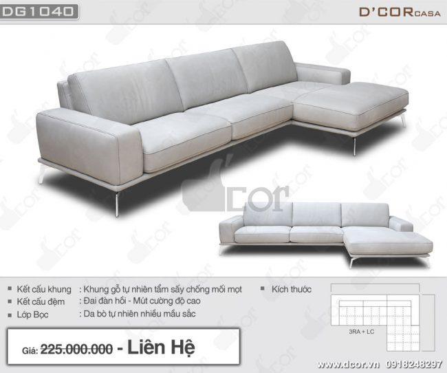 Mẫu sofa đơn giản, hiện đại