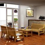 10+ mẫu ghế sofa gỗ đơn giản hiện đại cho không gian nhà đẹp