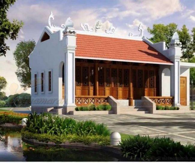 20 mẫu nhà thờ từ đường dòng họ đẹp bền bỉ cùng năm tháng
