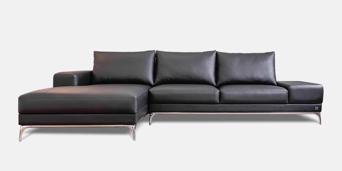 Mẫu sofa da công nghiệp hiện đại