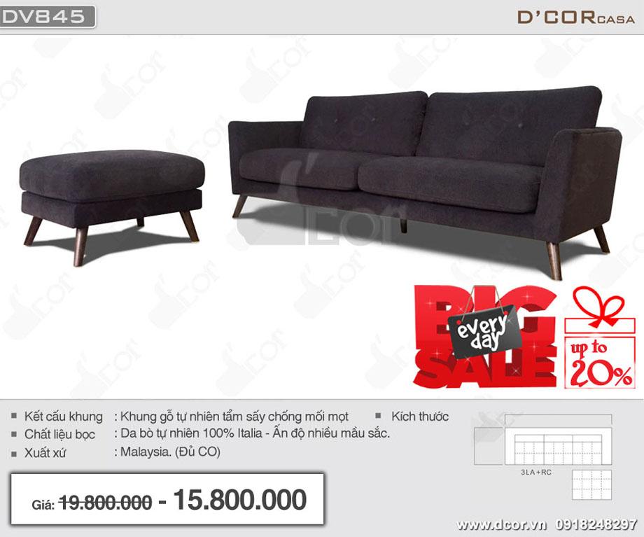 Mẫu sofa văng da nhập khẩu Malaysia giá rẻ khung gỗ tự nhiên