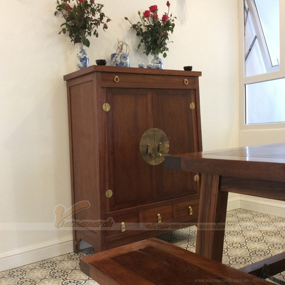 Mẫu tủ thờ nhỏ gọn cho chung cư