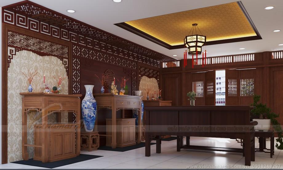 bàn thờ Thủy Tổ- Ban thờ chính điện